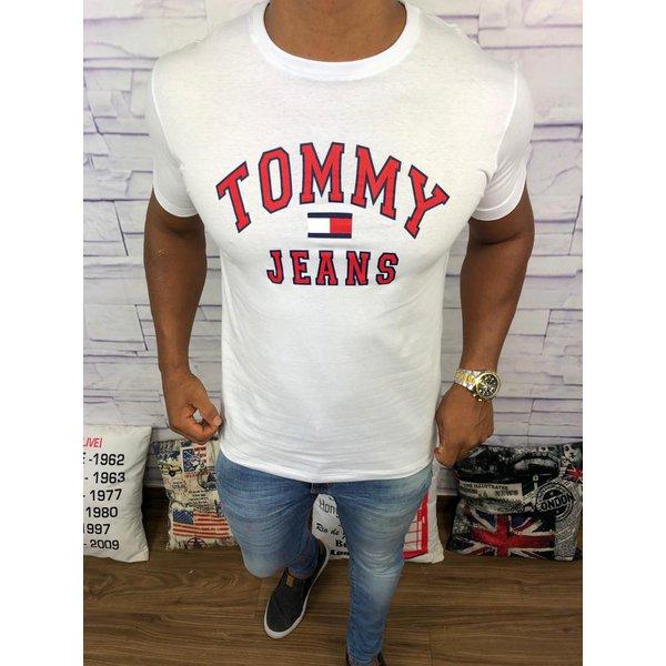 7b1e6922ddd Camiseta Tommy Hilfiger - Branca