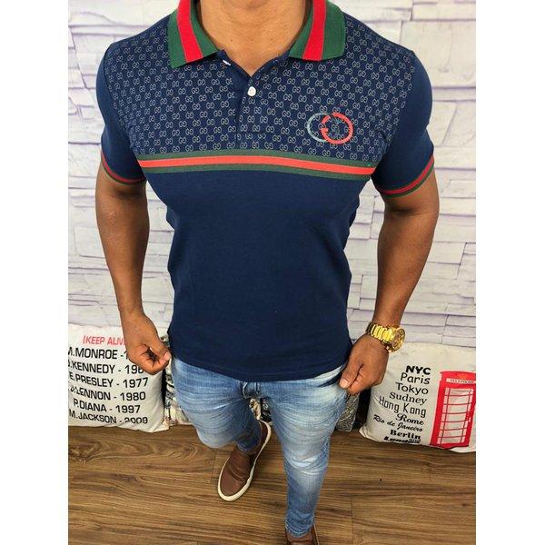 Polo Gucci - Azul