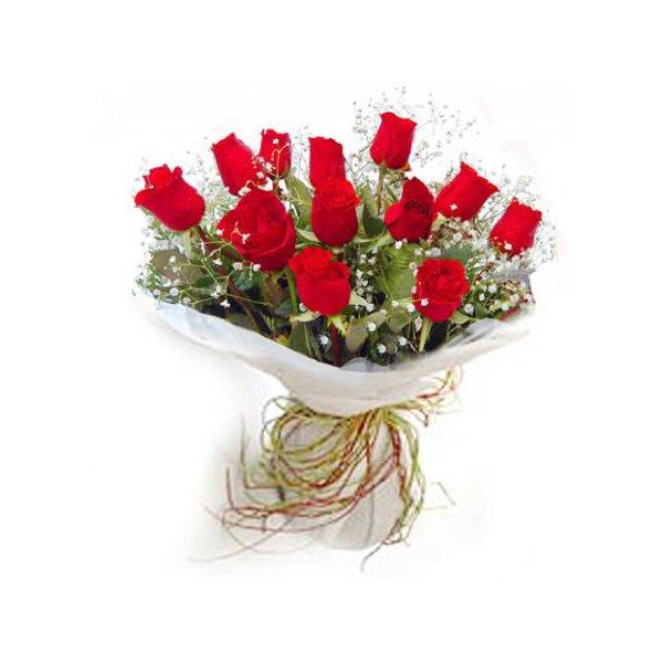 Buquê 12 Rosas Red