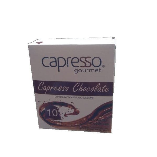 Chocolate - 10 Cápsulas