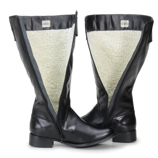 bfee0a9ebf229 Bota Montaria Feminina Couro Legítimo Preta - Encinas Leather 1530 |  CavalariaShop - Produtos para Cavalos e Cavaleiros