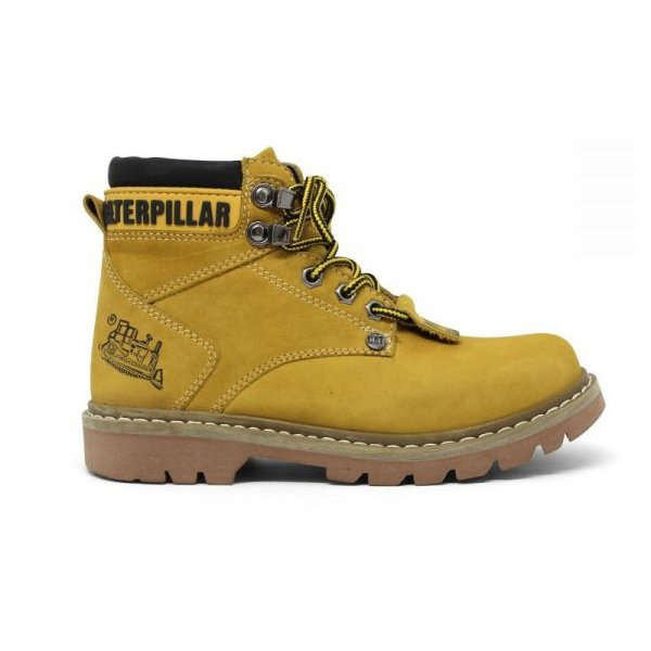 bc8f9b7fdc472 Bota Masculina Caterpillar Second Shift Mostarda | CLIQUE SHOES
