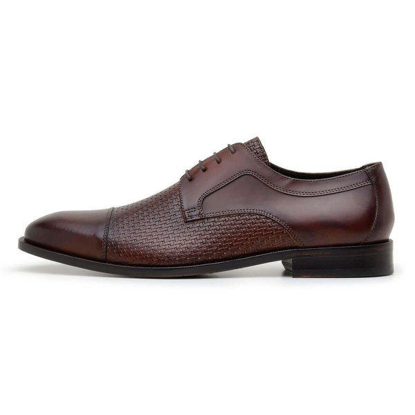 SAPATO SOCIAL MASCULINO DERBY CNS STOLL WHISKY