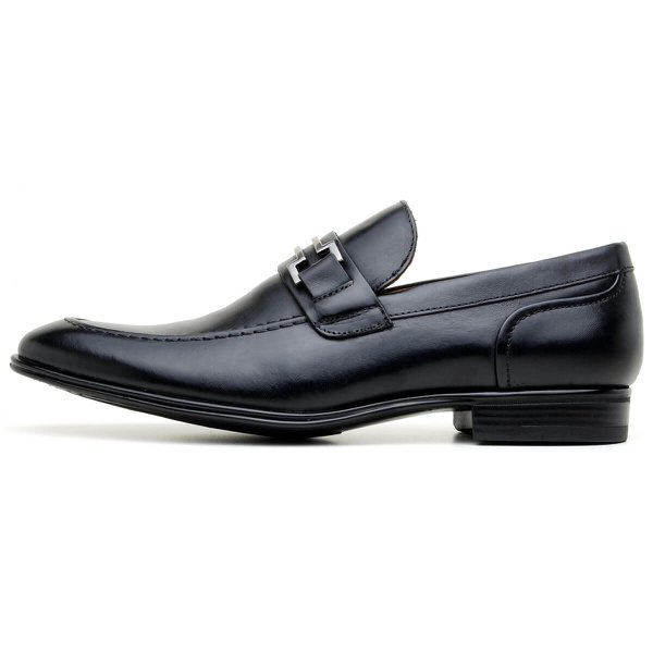 SAPATO SOCIAL MASCULINO LOAFER CNS HARRY 2 PRETO