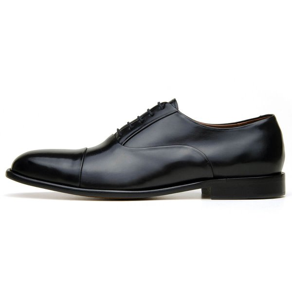 Sapato Social Masculino CNS Oxford Houston 01 Preto