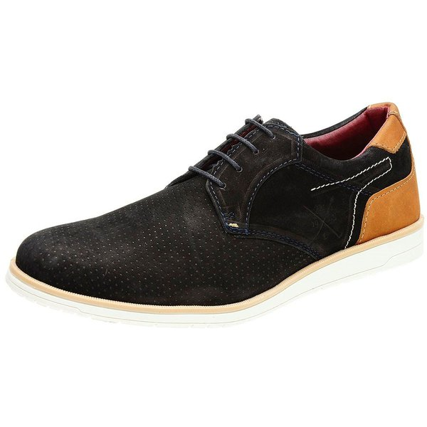 Sapato Casual Masculino Nobuck Cantarazo Derby Oxford Mr Light - 605 - Preto