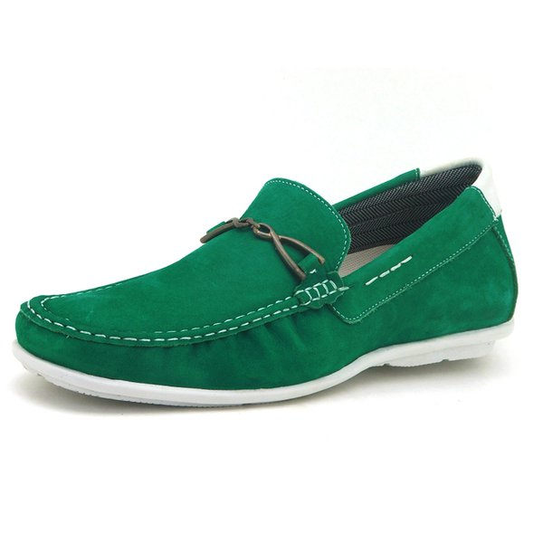 Sapato Drive Casual AtronShoes - 571 - Verde
