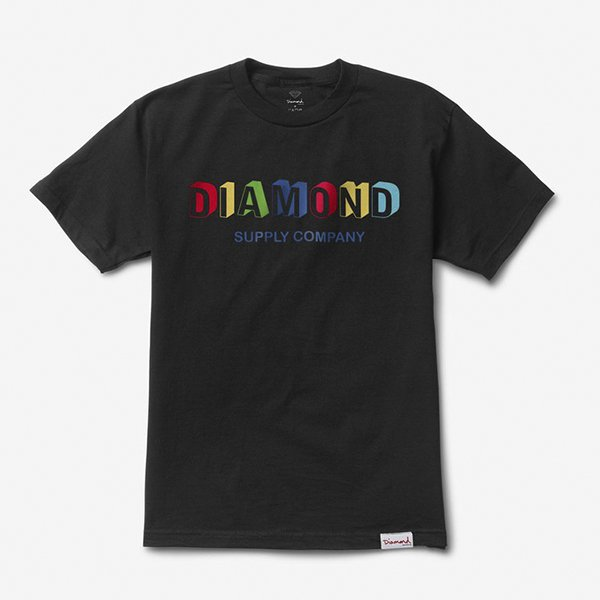 CAMISETA DIAMOND BUILDING BLACK