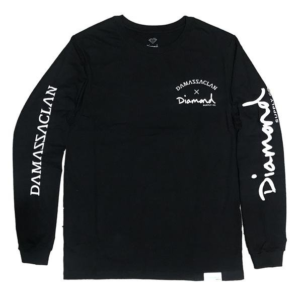LONGSLEEVE DIAMOND X DAMASSACLAN BLACK