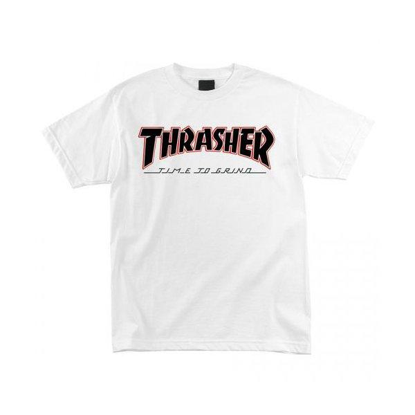 CAMISETA THRASHER X INDEPENDENT TTG WHITE