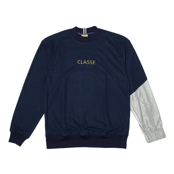 CROWERNECK CLASS ASSIMETRIC NAVY/SILVER