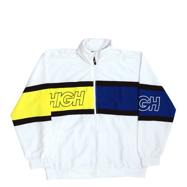 WINDBREAKER HIGH STRAP OUTLINE WHITE NAVY