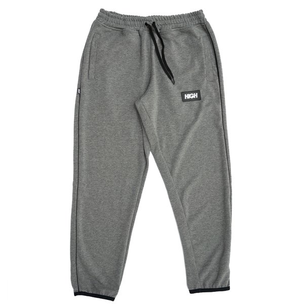 FLEECE PANTS HIGH HEATHER GREY