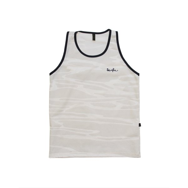 CAMISETA REGATA SIMPLE FULL PRINT BREEZE CINZA