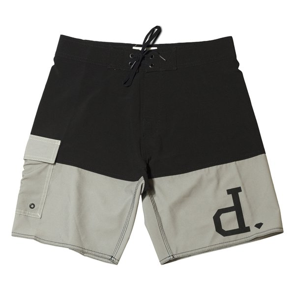 BOARDSHORTS DIAMOND STRIPE PRETO
