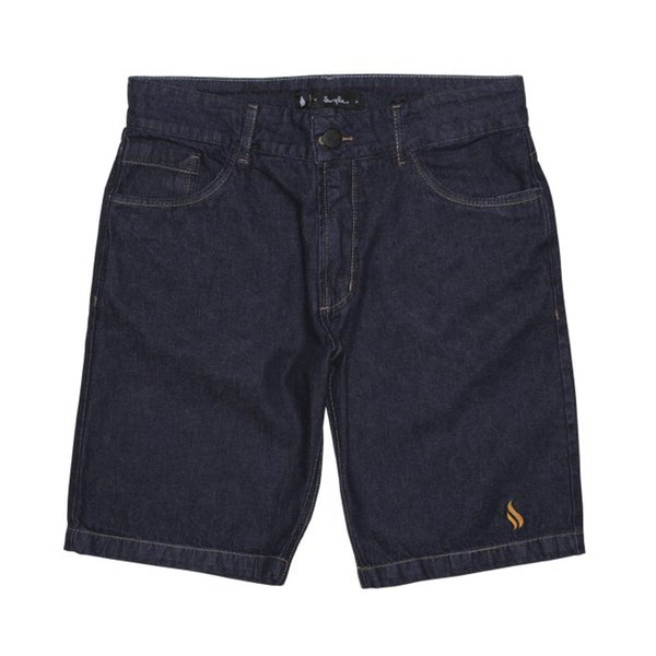 BERMUDA SIMPLE TRADICIONAL JEANS BLUE