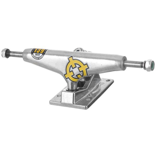 TRUCK INTRUDER HOLLOW PRO SÉRIES SILVER MID 139MM