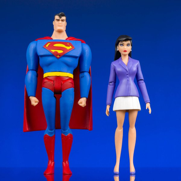 DC Collectibles – Superman & Lois Lane – Superman : The Animated Series – 2-Pack Action Figure