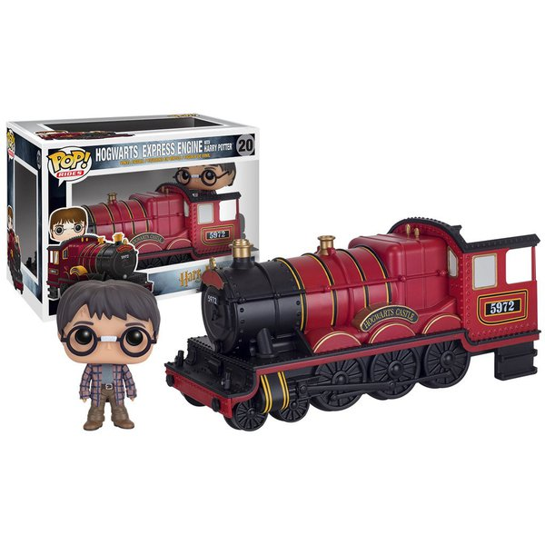 Harry Potter: Hogwarts Express Engine with Harry Potter Pop! Rides Vinyl – Funko