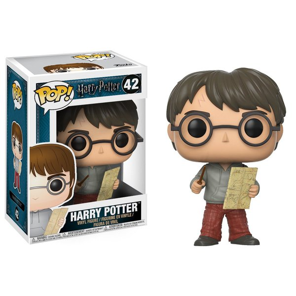 Harry Potter: Harry Potter with Marauders Map Pop! Vinyl