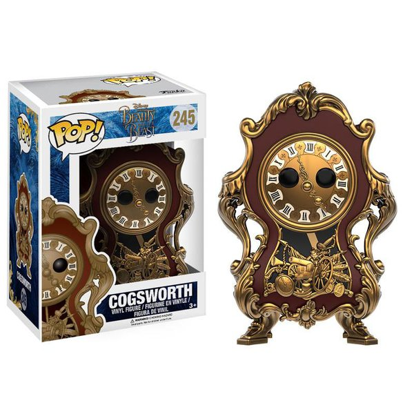 A Bela e a Fera: Horloge Pop! Vinil (Beauty and the Beast - Live Action: Cogsworth Pop! Vinyl)
