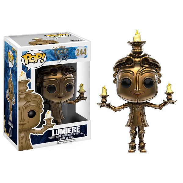 A Bela e a Fera: Lumière Pop! Vinil (Beauty and the Beast - Live Action: Lumiere Pop! Vinyl)