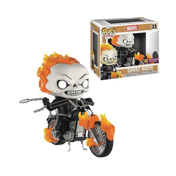 GHOST RIDER CLASSIC POP! VINYL – FUNKO – PX PREVIEWS EXCLUSIVE