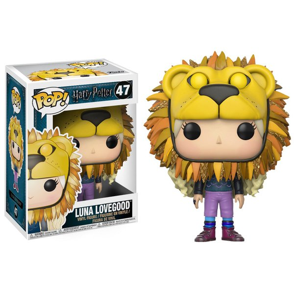 Harry Potter - Luna Lovegood Lion Head Pop! Vinyl