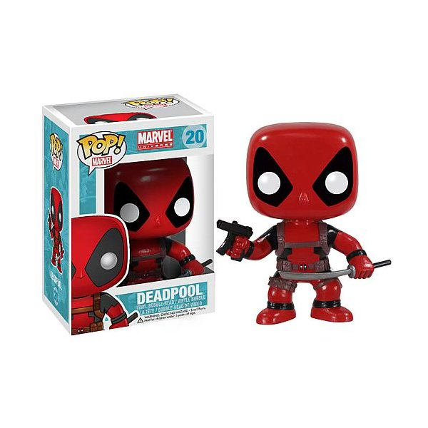 Marvel - Deadpool Pop! Vinyl Bobble Head