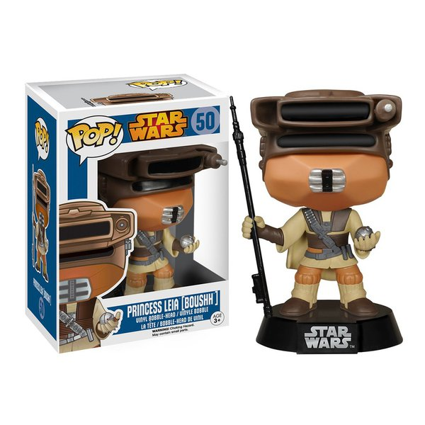 Star Wars – Princesa Leia (Boushh) (Boushh Princess Leia) Pop! Vinyl Bobble Head