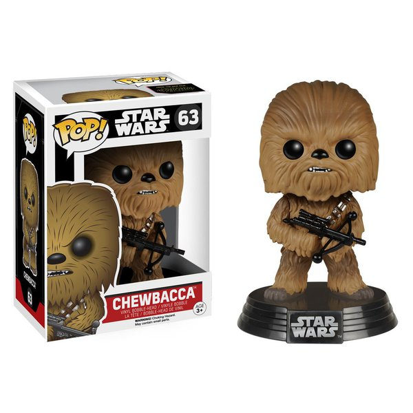 Star Wars: Episódio VII – O Despertar da Força – Chewbacca Pop! Vinil Bobble Head (Star Wars: Episode VII - The Force Awakens Chewbacca Pop! Vinyl)