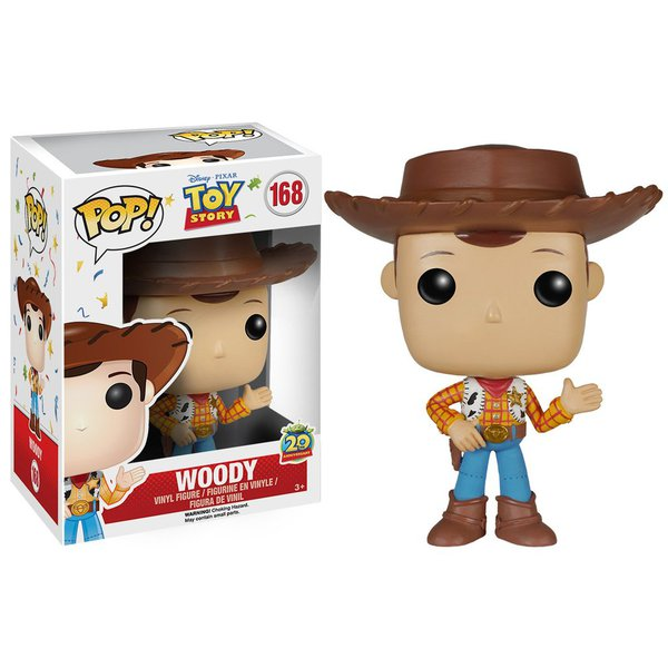 Toy Story 20th Anniversary - Woody Pop! Vinyl
