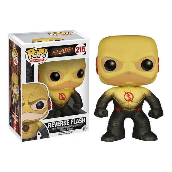 The Flash: Flash Reverso Pop! Vinil (Reverse Flash Pop! Vinyl)