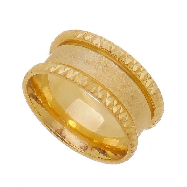 Aliança individual Casamento e Noivado em Ouro 18K de 9,4mm