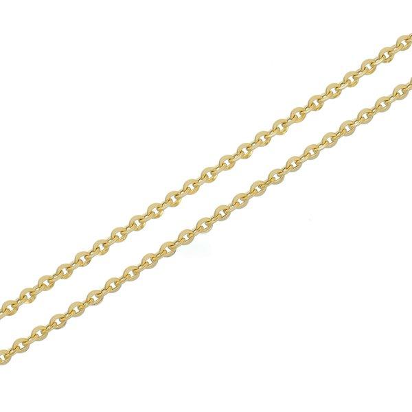 Corrente de Ouro 18K Italiana de 2,5mm com 45cm