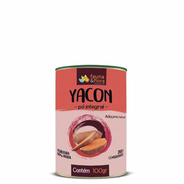 Adoçante Yacon em Pó Integral 100g