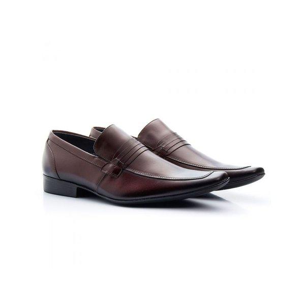 Sapato Social Masculino Couro Mouro 359