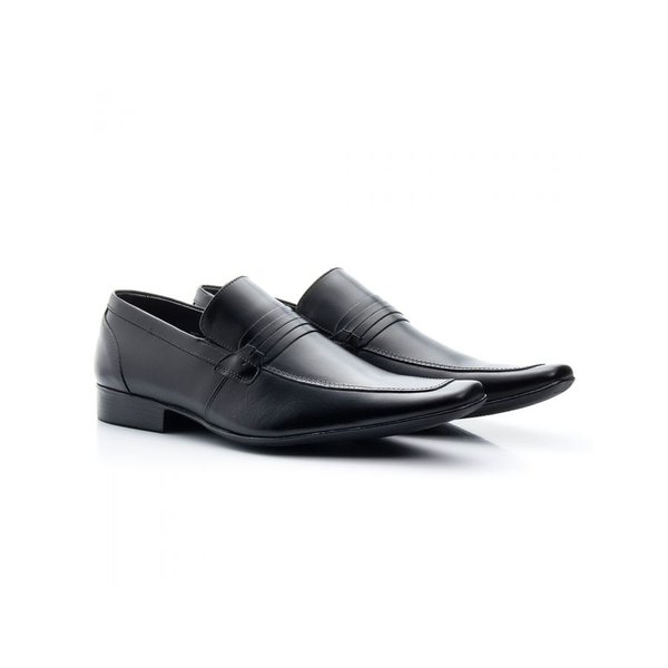 Sapato Social Masculino Couro Preto 359