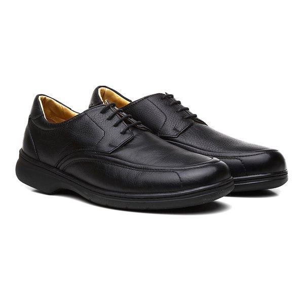 Sapato Casual Firenze Napa Floater Preto
