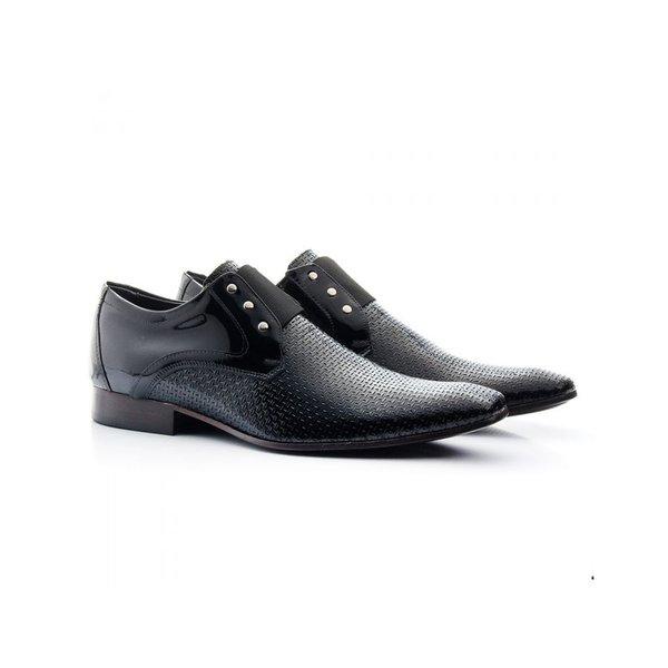Sapato Social Masculino Verniz Preto 517