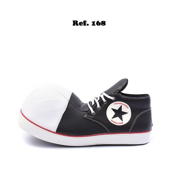 Sapato de Palhaço Clownstar Cano Baixo Ref 168