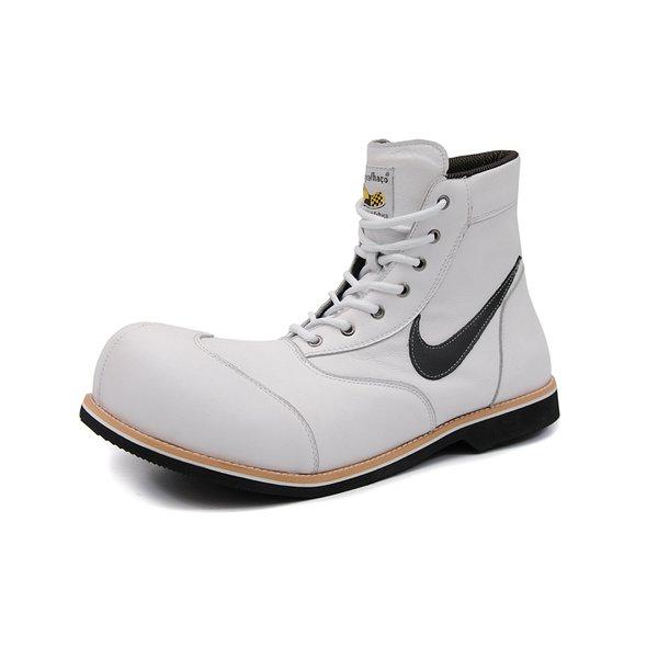 Sapato Palhaço Branco Estilo Ref 181