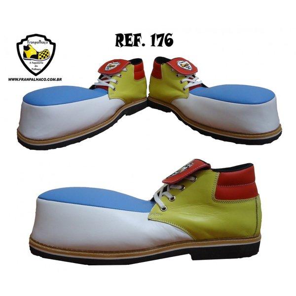 Sapato de Palhaço Colorido Ref 176
