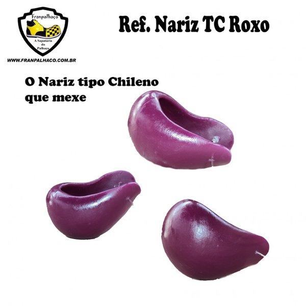 Nariz tipo Chileno Roxo