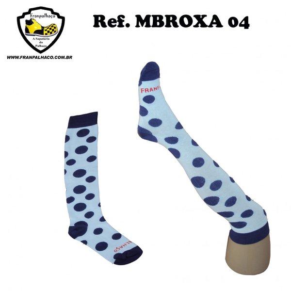 MEIA BOLINHA ROXA Ref MBROXA 04
