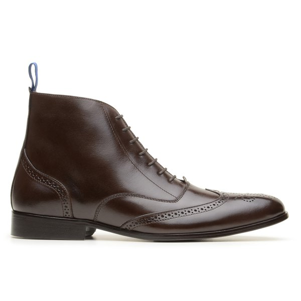 Bota Oxford Monza Brogue Café