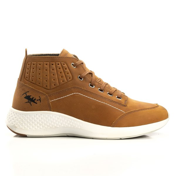 Tênis Jhon Boots Yeezy Sneakers Casual - Cevada