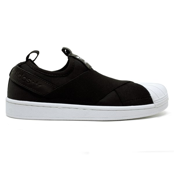 Tênis Adidas Superstar Slip-On - Preto