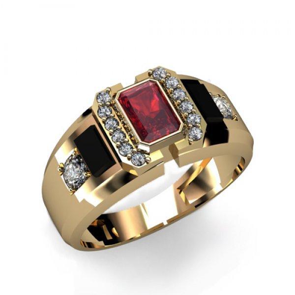 Anel de Formatura com Diamantes