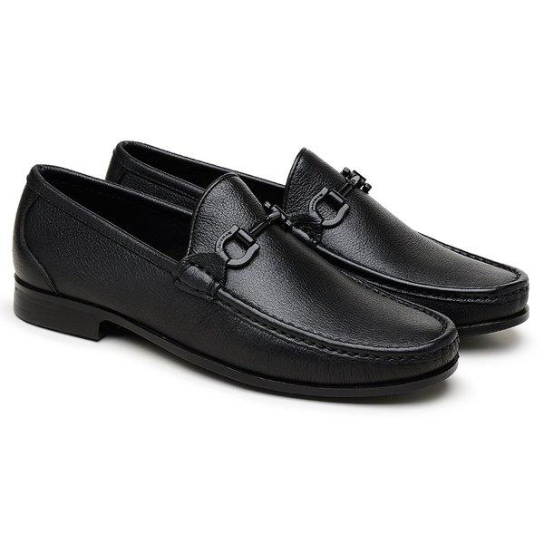 aadf63a567 Mocassim Black Floater Preto GJ01 BR-BK